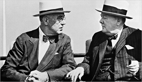 FDR & Churchill in Quebec