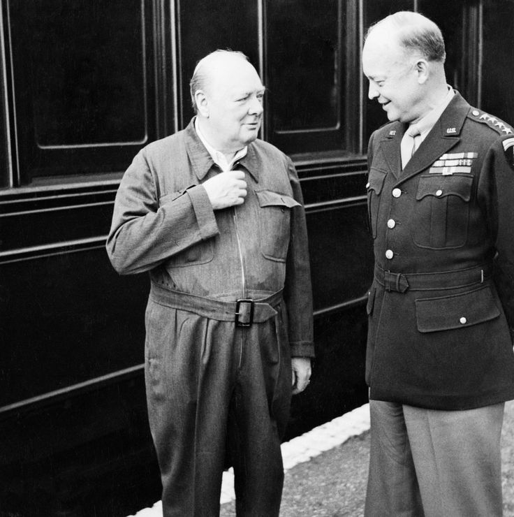 Churchill & Eisenhower