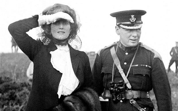 September 12, 1908 – Marries Clementine Hozier at St. Margaret's Church, Westminster